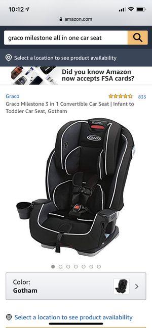 Brand New Graco 3 in 1 convertible car seat for Sale in Pleasanton, CA