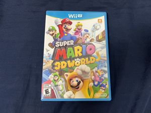 CIB Super Mario 3D World (Nintendo Wii U, 2013) for Sale in Seattle, WA