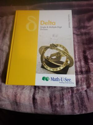 Math u see. Math book great. Condition. for Sale in Butte, MT