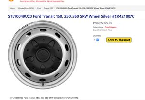 Set of new rims and tires for transit for Sale in Sacramento, CA