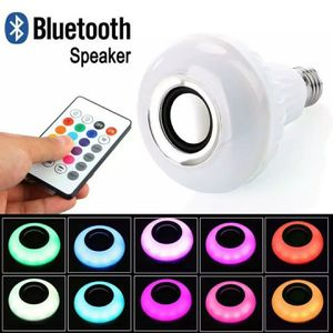 Led Bluetooth speaker bulb with remote. Changes colors while playing music. for Sale in Los Angeles, CA