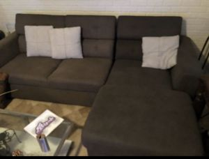 Used Lounge Sofá/Couch with Hideaway Storage Extension for Sale in Hialeah, FL