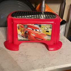 Cars Lightning Mcqueen Step Stool for Sale in Queens,  NY