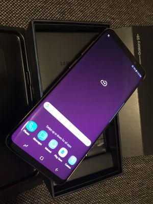 Samsung Galaxy S9 Plus, Factory Unlocked, Excellent Condition. for Sale in Springfield, VA