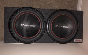 """Two 12"""" 1300W Pioneer Subwoofers for Sale in Henderson, NV"""