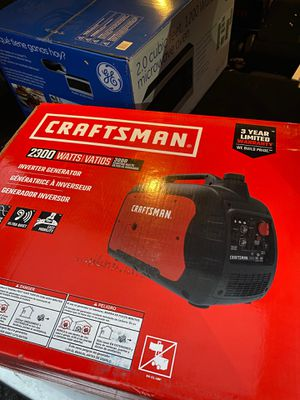 Craftsman 2300 watts inverter generator for Sale in The Bronx, NY