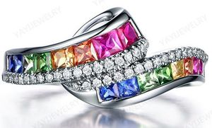 *NEW ARRIVAL* Beautiful Multi Sapphire Wedding Engagement Ring Sizes 5 - 11 *See My Other 600 Items* for Sale in Palm Beach Gardens, FL