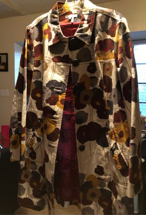 Beautiful Long Jacket size large for Sale in Modesto, CA
