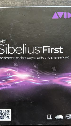 Sibelius - Brand New - professional music composition software for Sale in Nashville, TN