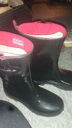 Capelli new york black rain boots for Sale in San Francisco, CA
