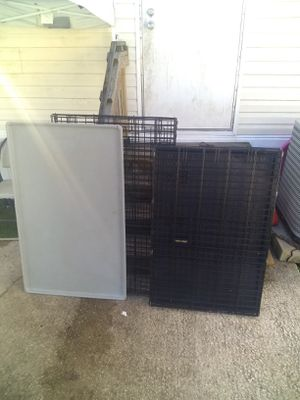 2 dog crates for Sale in Jacksonville, FL