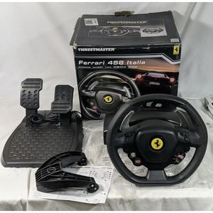 Ferrari Racing Wheel And Pedals for Xbox 360 for Sale in Aurora, CO
