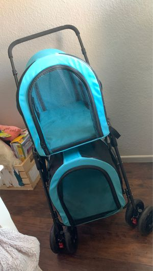 Double dog stroller for Sale in Fontana, CA