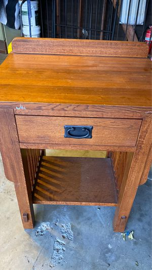 Craftsman Wood Table for Sale in Westminster, CA