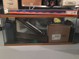 Fish tank with stand for Sale in Kildeer, IL