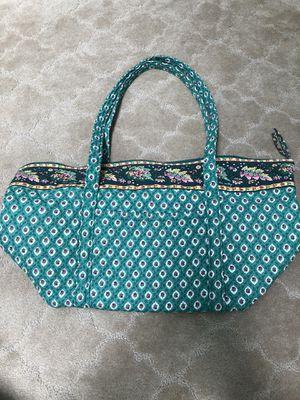 Vera Bradley Green Medium Tote Overnight Bag for Sale in Escondido, CA
