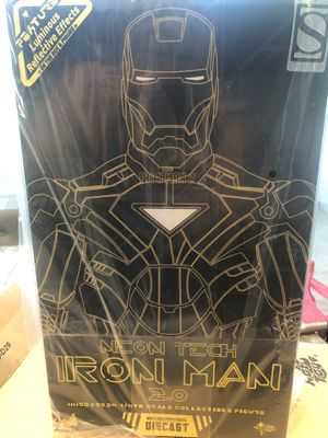 Neon Tech IRON MAN comic con exclusive for Sale in Lathrop, CA