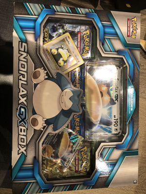 Pokemon Snorlax GX box for Sale in Foster City, CA