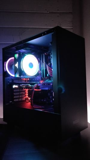 Custom Built Gaming PC- i5 8400 six cores, 16gb ddr4, RX 480 8gb gpu for Sale in Stanton, CA