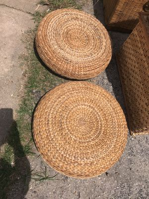 Wicker patio seats for Sale in Houston, TX