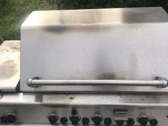 Professional stainless Steel Bbq Grill With Side Burner And Rotisor for Sale in Los Angeles,  CA
