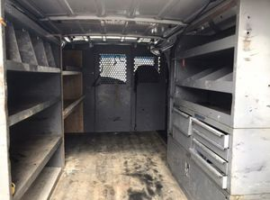 2002 Ford E-250 work can interior metal storage shelving units for Sale in Germantown, MD