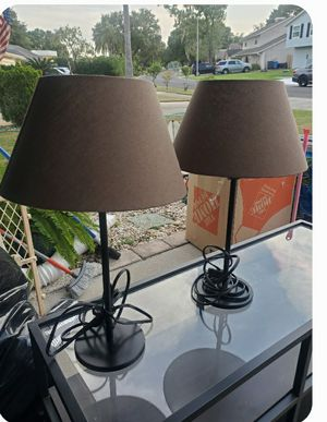 Night stand lamps for Sale in Tampa, FL