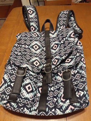 Brilliant pattern nylon lined backpack clean!!! for Sale in San Diego, CA