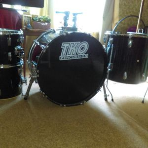 Adult size vintage TKO percussion drums set of 4 or/bo for Sale in Triangle, VA