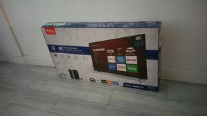 "43"" smart 4k TV Roku 2160p Tcl UHD HDR for Sale in El Monte, CA"
