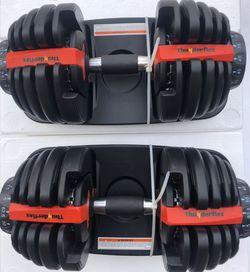 Adjustable Dumbbells 5-52, Brand New for Sale in Garden Grove,  CA
