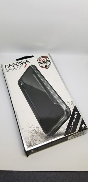 IPhone Xs/X Defense Shield Clear Back case for Sale in Norco, CA