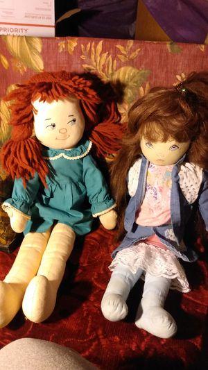 2 blue-eyed redhead rag dolls Bob for Sale in Sacramento, CA
