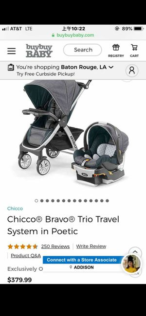 Chico bravo stroller for Sale in Baton Rouge, LA