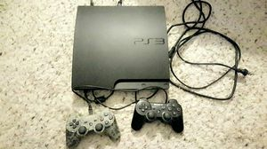 PS3 and two wireless controllers for Sale in Muncy, PA