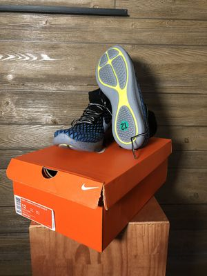 Nike Lunarepic Flyknit Shield size 12 for Sale in Rockville, MD