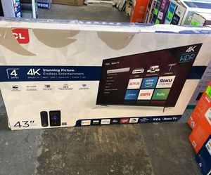 "TCL roku tv 43"" V0VFZ for Sale in Redondo Beach, CA"