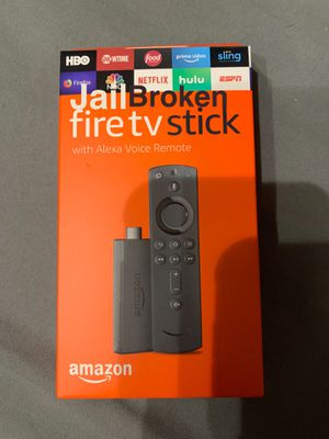 Jailbroken Amazon Fire Tv Stick for Sale in Homestead, FL