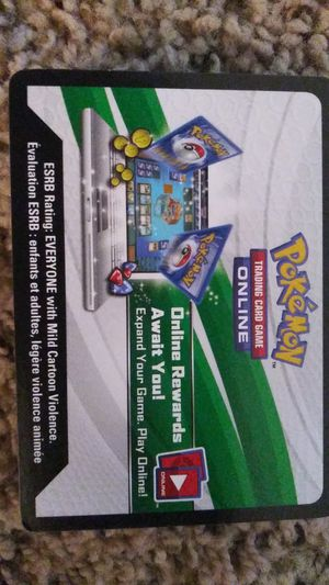 30 pokemon online card codes. for Sale in Dallas, TX