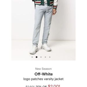 Off White Coat Str8 Out Store for Sale in Chicago, IL