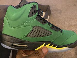 "Air Jordan 5 Retro SE ""Oregon"" Size 10.5 for Sale in University Place, WA"