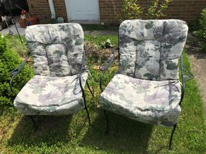 patio chair cushions for Sale in Glen Ellyn, IL