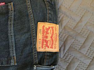 Levi's 501 original denim jeans for Sale in Houston, TX