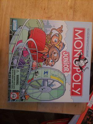 Monopoly jr junior board game for Sale in Beaverton, OR