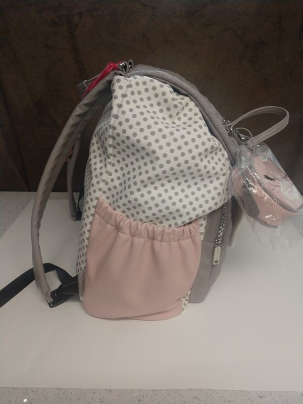 Betsey Johnson Diaper Backpack (New w/tags)