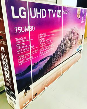 """75"""" 4K LG THIN Q 8 SERIES UHD HDR SMART LED TV 2160P TAX ALREADY INCLUDED for Sale in Phoenix, AZ"""