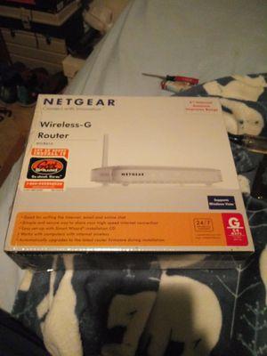 Netgear Wireless-G Router WGR614 for Sale in Carrollton, TX