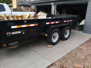 16-ft dump trailer for Sale in Denver, CO