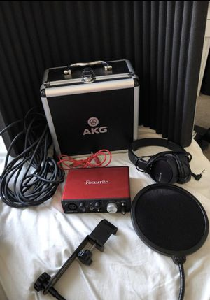 Audio equipment for sale for Sale in Riverside, CA