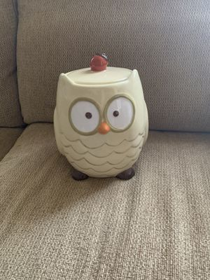 New - Owl cookie jar for Sale in Lancaster, PA